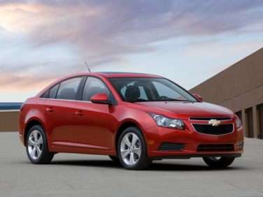 2013 Chevy Cruze Earns Five-star Safety Rating