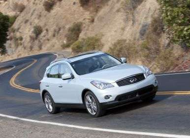 Road Test and Review - 2013 Infiniti EX37 Journey AWD