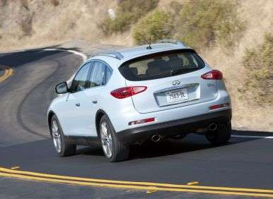 2013 Infiniti EX37 Journey AWD Review: Models and Prices