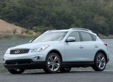 2013 Infiniti EX37 Journey AWD Review: Engines and Fuel Economy