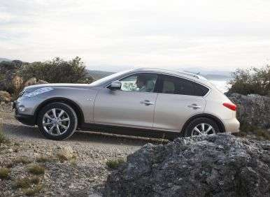 2013 Infiniti EX37 Journey AWD Review: Driving Impressions