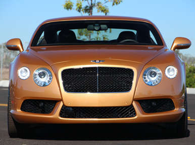 Exterior: 2013 Bentley Continental GT V8