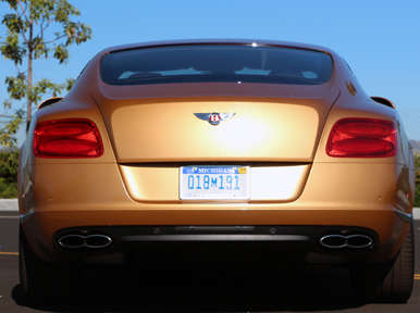 Pricing and Trim Levels: 2013 Bentley Continental GT V8