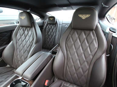 Interior: 2013 Bentley Continental GT V8