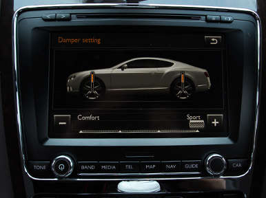 Safety: 2013 Bentley Continental GT V8