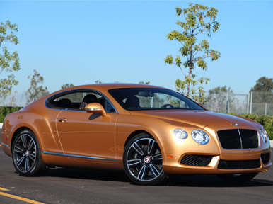 Introduction:  2013 Bentley Continental GT V8