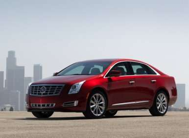 01.  The 2013 Cadillac XTS Is An All-New Model
