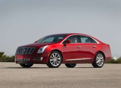 03.  The 2013 Cadillac XTS Features Distinctive Styling