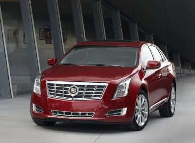 05.  The 2013 Cadillac XTS Makes Use Of V-6 Power