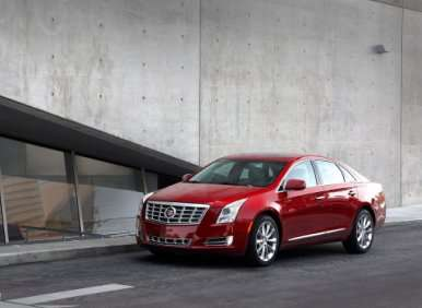 06.  The 2013 Cadillac XTS Can Be Had The CUE System