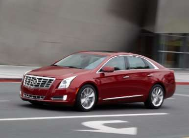 08.  The 2013 Cadillac XTS Can Be Customized Via A Single Options Package