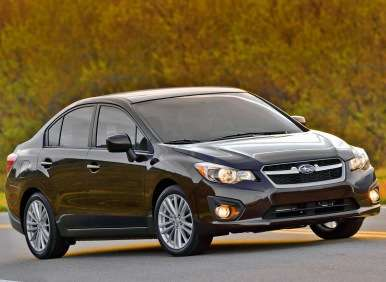 Best Winter Cars - 01 - 2013 Subaru Impreza