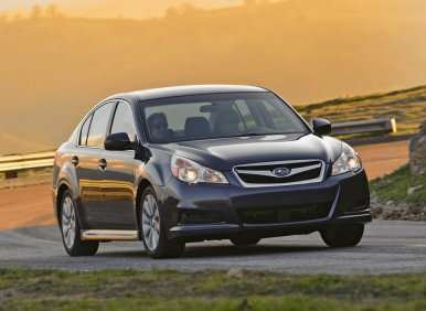Best Winter Cars - 07 - 2013 Subaru Legacy