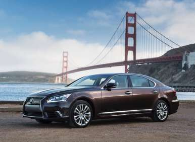 Luxury Hybrid Cars - 01 - 2013 Lexus LS 600h L