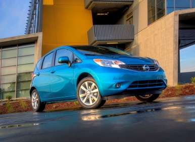 New 2014 Nissan Versa Note: Features and Technology
