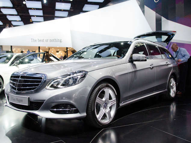 New 2014 Mercedes-Benz E-Class Sedan & Wagon: Styling and Design