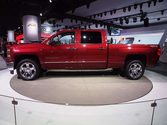 2014 Chevrolet Silverado Preview - Detroit Auto Show