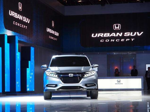 New Honda Urban SUV Concept: Styling and Design