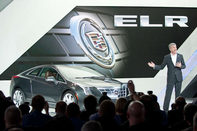 2014 Cadillac ELR Preview - Detroit Auto Show