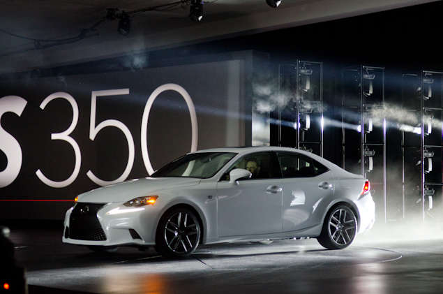 New 2014 Lexus IS: Styling and Design