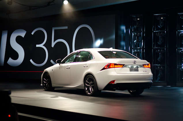 Whats New for the 2014 Lexus IS: