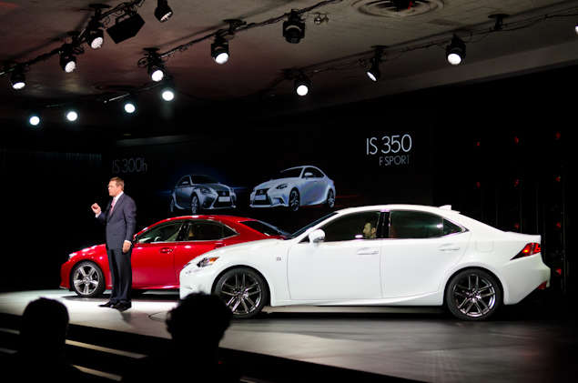 2014 Lexus IS Preview - Detroit Auto Show