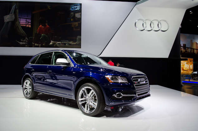 2014 Audi SQ5 Preview: 2013 Detroit Auto Show