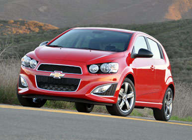 2013 Chevrolet Sonic RS Road Test and Review: Models and Prices