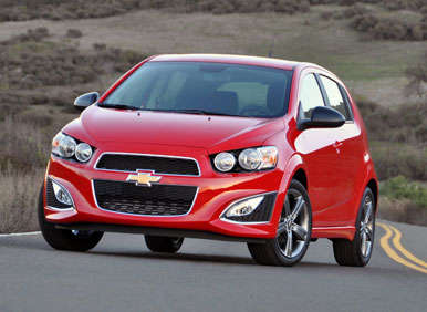2013 Chevrolet Sonic RS Road Test and Review: Driving Impressions