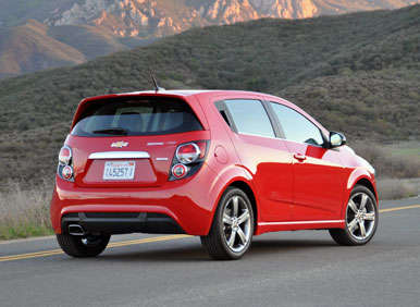 2013 chevrolet sonic rs road test and review. Black Bedroom Furniture Sets. Home Design Ideas