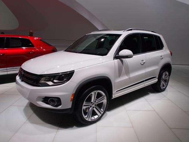 2014 Volkswagen Tiguan R-Line Preview: 2013 Detroit Auto Show
