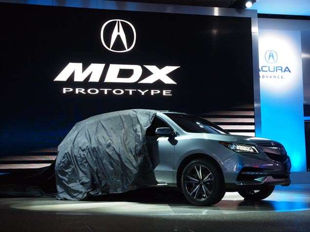 2014 Acura MDX Prototype Preview: Detroit Auto Show