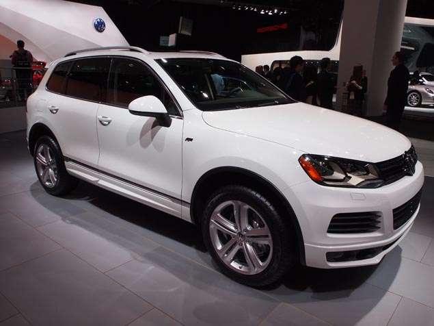 2014 Volkswagen Touareg R-Line Preview: 2013 Detroit Auto Show