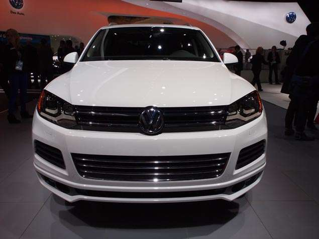 New 2014 Volkswagen Touareg R-Line: Styling and Design