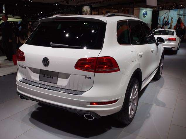 What's New for the 2014 Volkswagen Touareg R-Line: