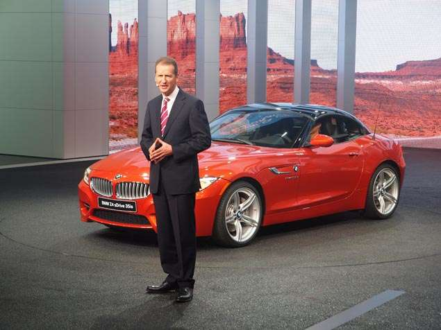 2014 BMW Z4 Preview - Detroit Auto Show