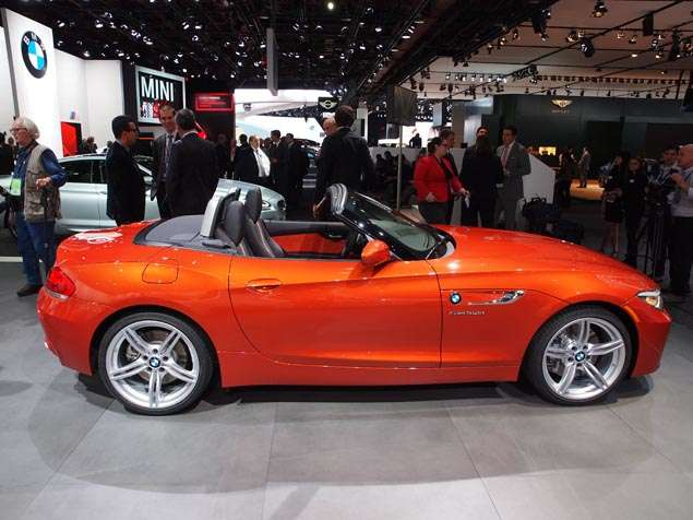 New 2014 BMW Z4: Styling and Design