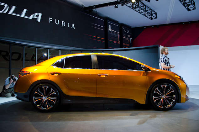 What's New for the Toyota Corolla Furia Concept:
