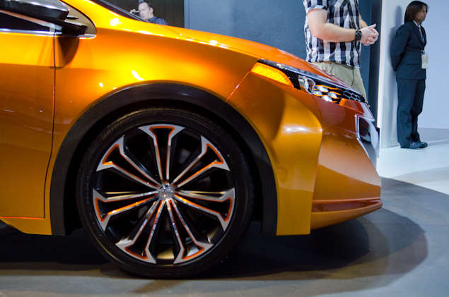 New Toyota Corolla Furia Concept: Styling and Design