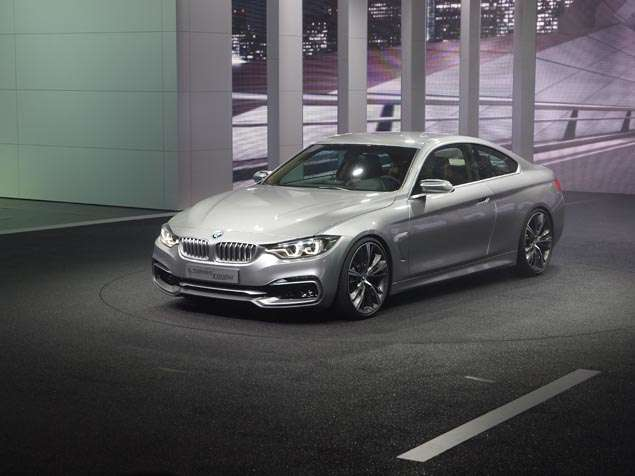 New BMW Concept 4 Series Coupe : Styling and Design