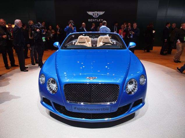 2014 Bentley Continental GT Speed Convertible Preview - Detroit Auto Show
