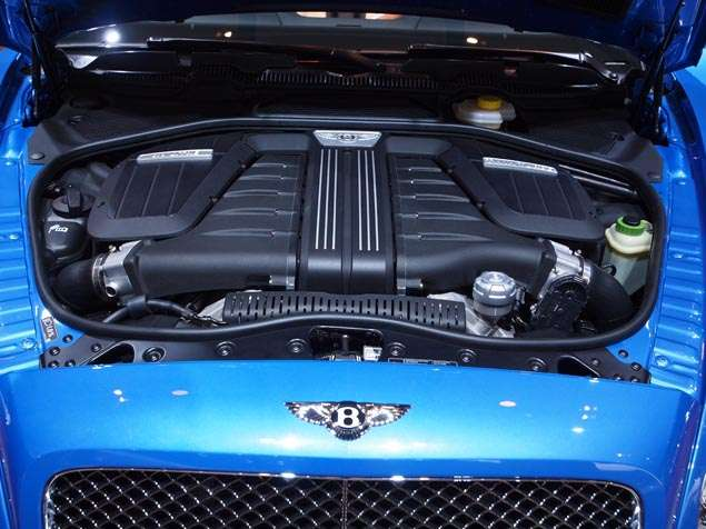 New 2014 Bentley Continental GT Speed Convertible: What's Under the Hood