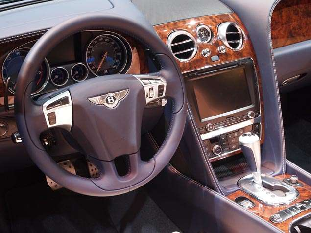 New 2014 Bentley Continental GT Speed Convertible: Features and Technology