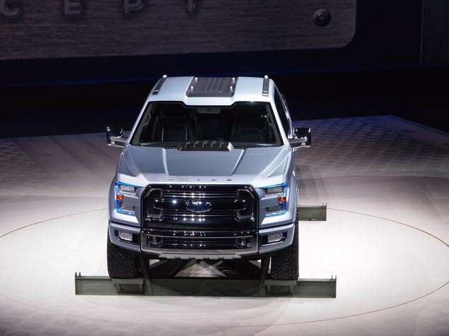 Atlas Arrives: Ford F-150 Concept Drops onto the 2013 Detroit Auto Show