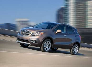 01.  The 2013 Buick Encore Is A Compact Crossover