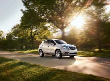 03.  The 2013 Buick Encore Provides Practical Accommodations