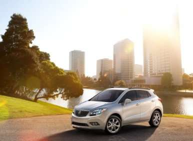 04.  The 2013 Buick Encore Offers Turbocharged Power