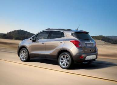 07.  The 2013 Buick Encore Offers Several Options