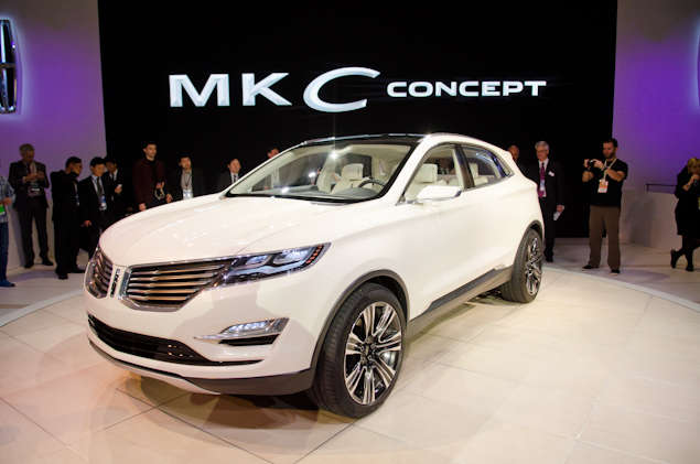 2013 Lincoln MKC Concept Preview: Detroit Auto Show