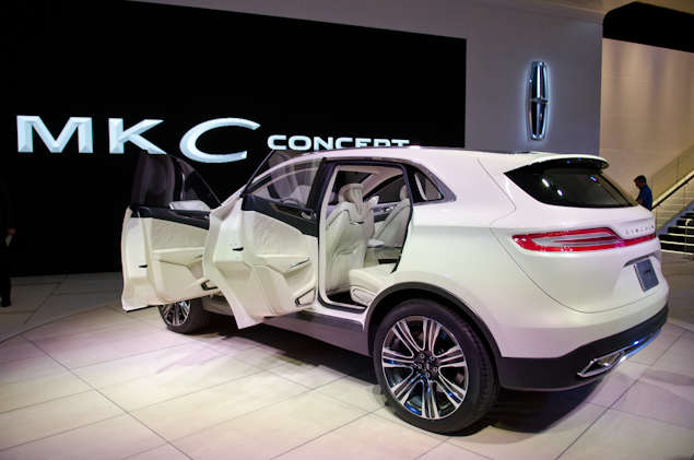 New 2013 Lincoln MKC Concept: Features and Technology